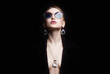 Beautiful Sexy Woman In Jewelr...