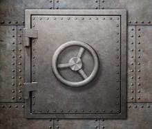 Bank Vault Or Undeground Shelt...