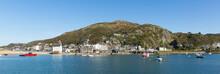 Barmouth Wales Beautiful Coast Town In Gwynedd Snowdonia National Park UK Panoramic View