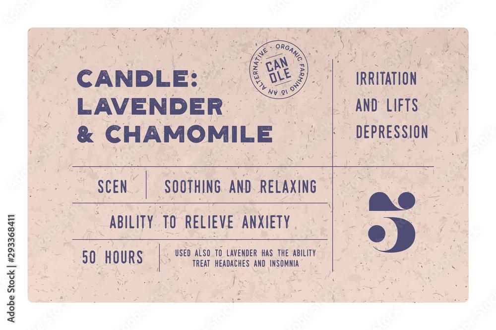 Fototapety, obrazy: Vintage Minimal Label. Set of graphic modern vintage label