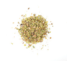 Dried Oregano Spice Isolated O...