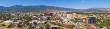 Huge Panorama Of Downtown Colorado Springs