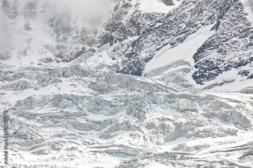 Valokuvatapetti Séracs des Alpes Suisses