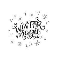 Winter Magic Hand Written Insc...