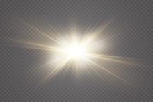 Vector Transparent Sunlight Sp...