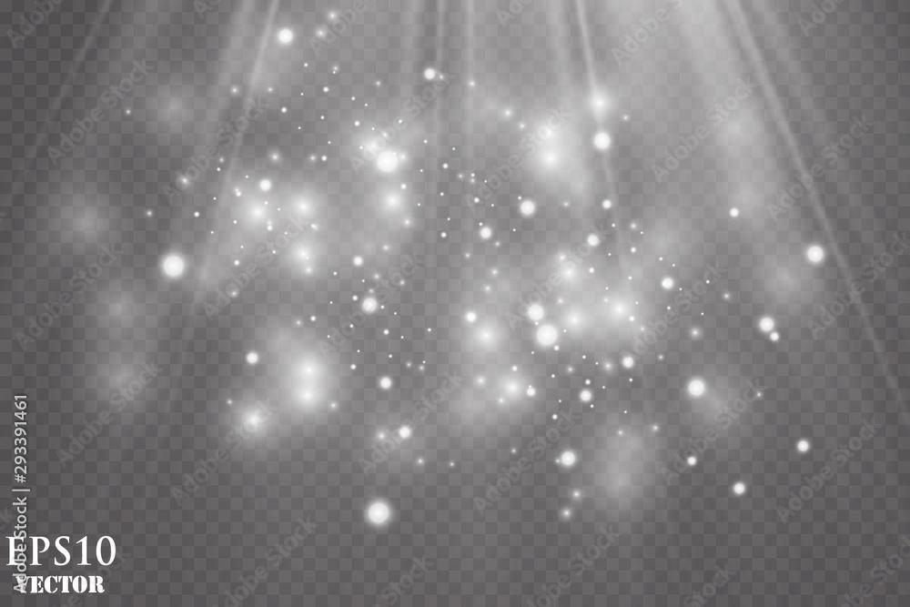 Fototapeta Vector Spotlights. Scene. Light Effects.