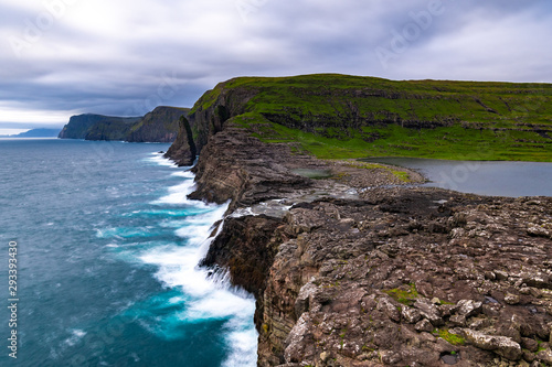 Faroe Islands In The Summer Tablou Canvas