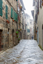 Back Street In An Old City Of ...