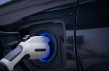 Charging Modern Electric Car B...