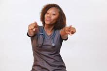 Healthcare Professional On Whi...