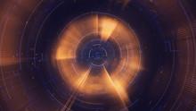 Golden Circle, Tech Futuristic Backdrop