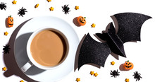 Halloween Theme With A Cup Of ...