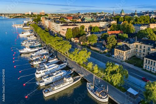 Foto auf Gartenposter Stockholm View of Stockholm Sweden early morning