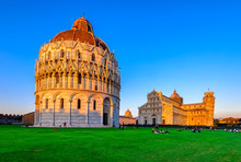 Sunset View Of Baptistery Of S...