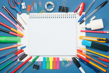 Stationery And Blank Notebook ...