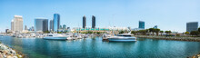 San Diego Marina Harbor Panora...