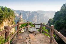 Zhangjiajie Forest Park Hunan Province China Emperors Throne