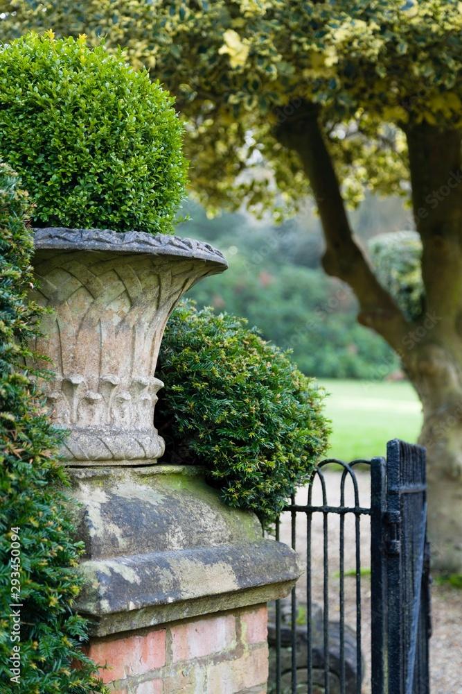 Victorian garden detail