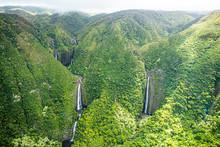 Molokai, Waterfalls