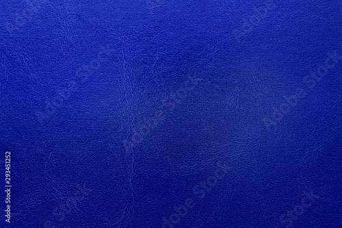 Obraz na plátně  blue wrinkled leather