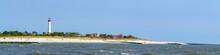 Cape May Lighthouse Beach Panorama