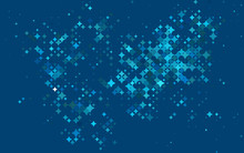 Light BLUE Vector Pattern With Christmas Stars. Stars On Blurred Abstract Background With Gradient. Best Design For Your Ad, Poster, Banner.