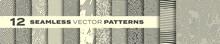 Seamless Patterns Vector Set, ...