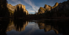 Reflections At Yosemite Valley
