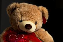 A Large Valentine Teddy Bear O...