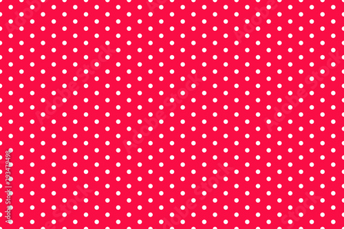 Türaufkleber Künstlich Seamless dotted pattern. Abstract geometric wallpaper of the surface. Print for polygraphy, banners, shirts and textiles