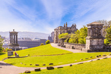 Landscape Of Calton Hill, Edin...
