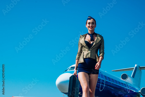 Transport tourism and air flights concept Canvas Print