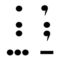 Punctuation Marks Isolated On ...