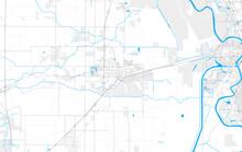 Rich Detailed Vector Map Of Da...