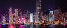 Iconic Hong Kong Night View, V...