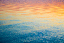 Clear Water Texture In Blue An...