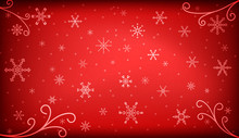 Christmas Background In Bright...