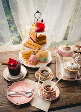 English Afternoon Tea Desserts...