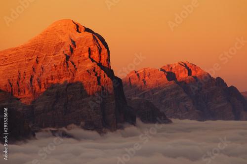 Obraz na plátně  Dolomiti Cristallo