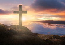 Cross Crucifixion Of The Crucifixion On The Summit Of Jesus Christ