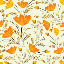 Floral Pattern Based Seamless ...