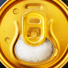 Open Beer Can