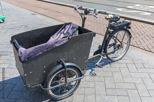 Cargo Box Bicycle Wallpaper Mural