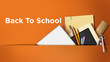 canvas print picture - Back To School