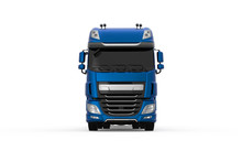 Generic Blue Truck With Semi T...
