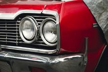 Classic American Retro Car Und...
