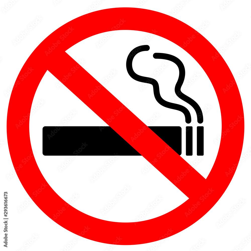 Fototapeta No smoking sign