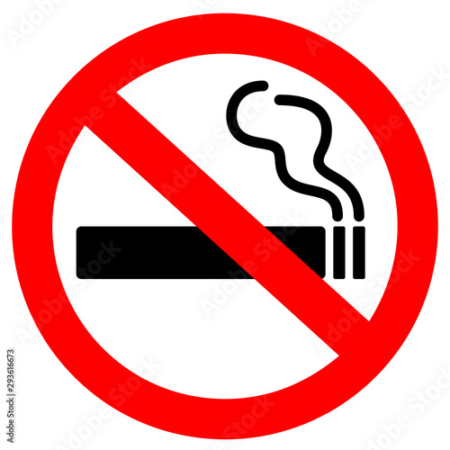 Obraz No smoking sign - fototapety do salonu