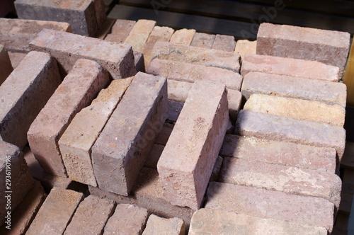 Fototapety, obrazy: Brick block tile gardening department