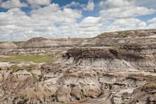 Betonit Landschaft, Horseshoe Canyon In Alberta